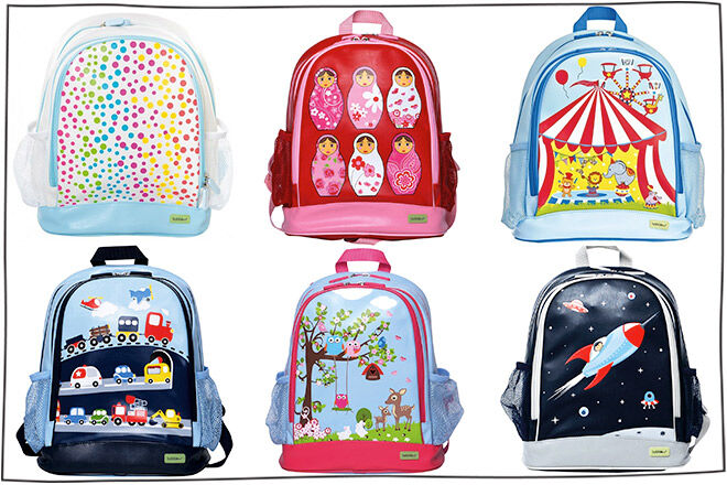 24 cool kids backpacks to start the school year