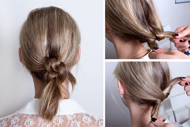 Knottedpony hairstyle