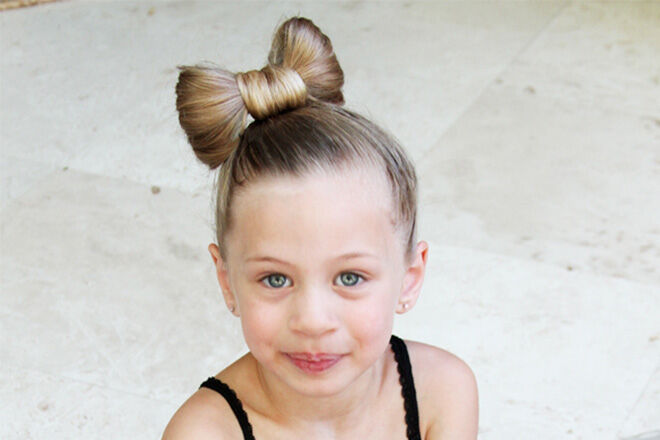 Minniemouse hairstyle