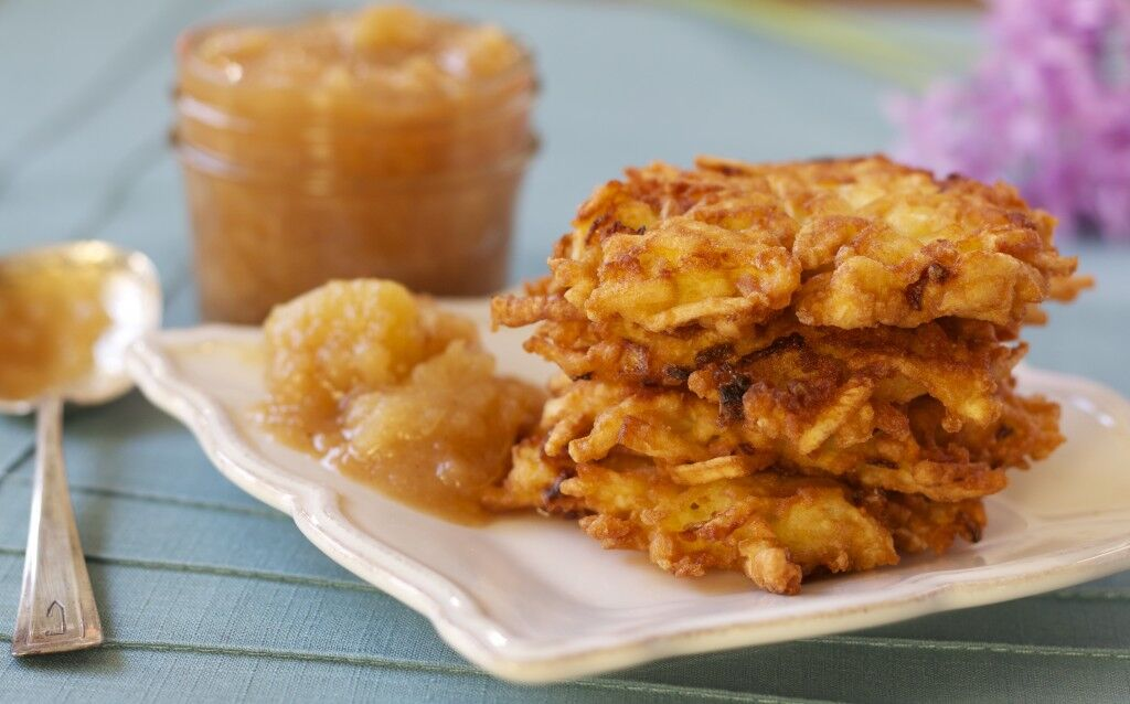 Two Lazy Gourmets latkes