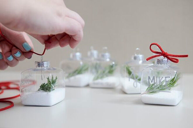 Christmas ornament place holders