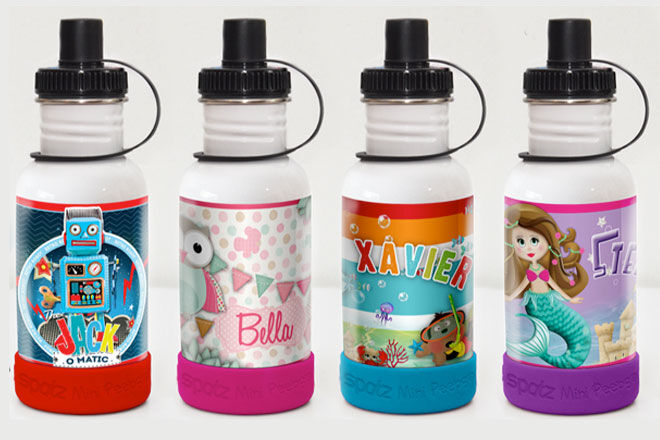 Spatz Personalised Drink Bottles