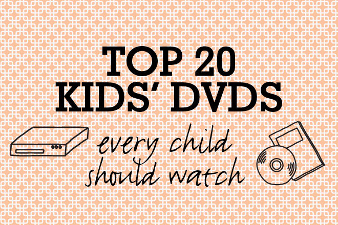 Top 20 Kids DVDs