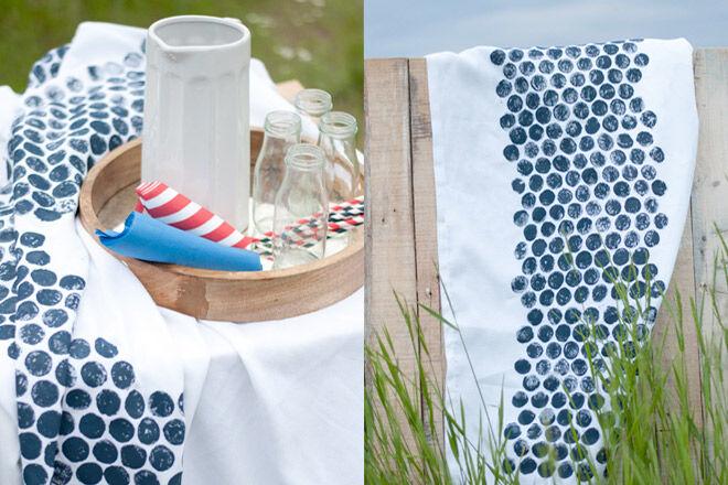Bubble Wrap Table Cloth