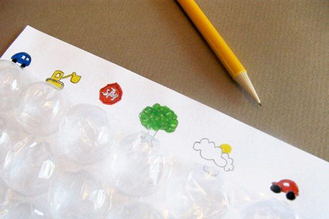 Bubble Wrap Travel Game