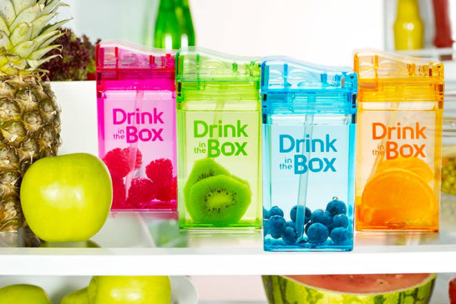 Drink in the Box reusable drink boxes