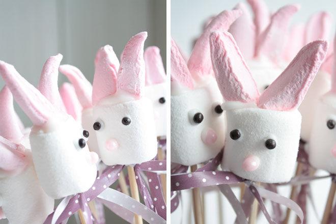 Easter Bunny Mashmallows