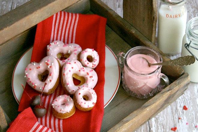 Valentines Doughnuts
