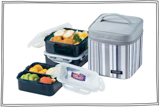 Lock & Lock Lunch Box System