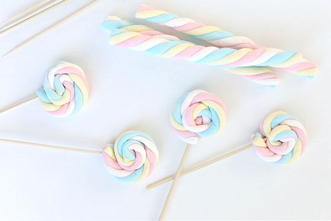 Marshmallow Pinwheels