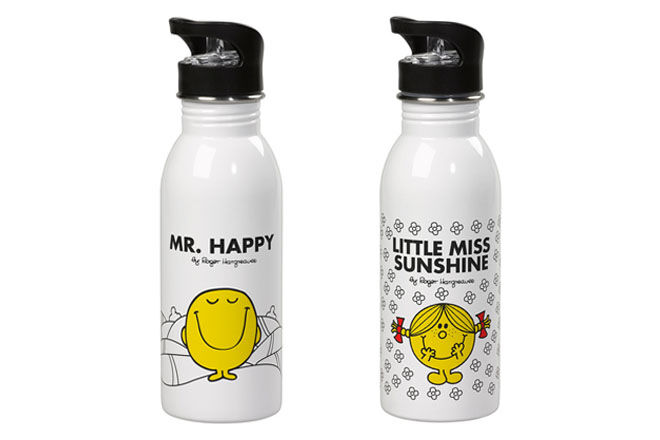 Mr Men drink bottles