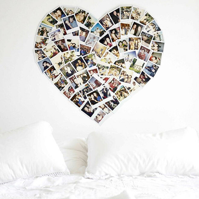 Polaroid Headboard 79 Ideas