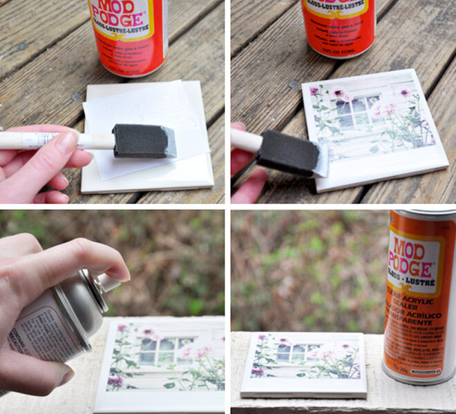 DIY Photo Coasters - Darkroom And Dearly