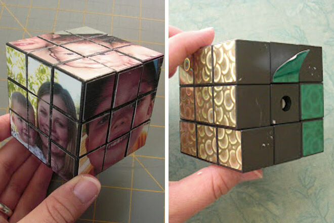 Photos Rubix Cube - Obsessively Stitching