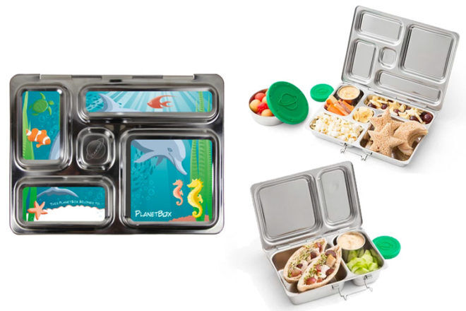 PlanetBox stainless steel lunch boxes