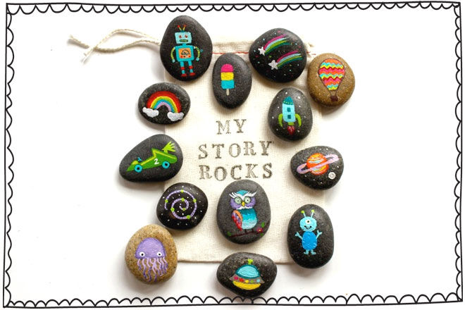 Rock Painting Story