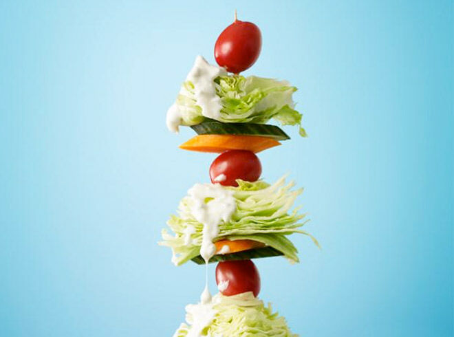 cool ideas for giving kids salad