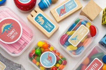 Tips for name labelling everything for back to school