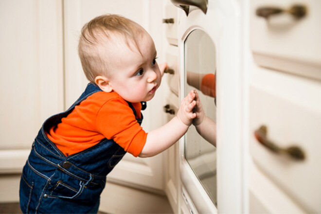 Baby-proof the kitchen