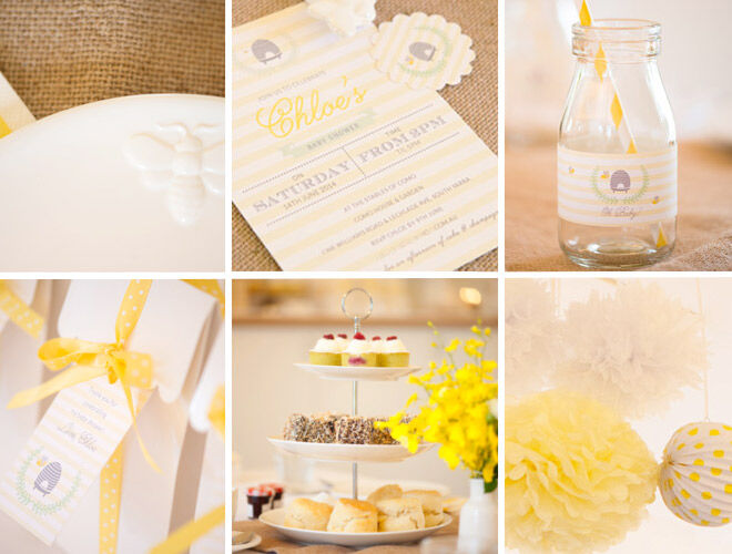 Baby Shower Ideas - Invitations and Themes
