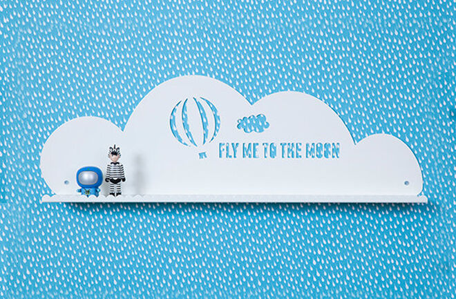 Etsy blue cloud shelf