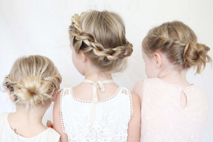 How to style girls hair for school