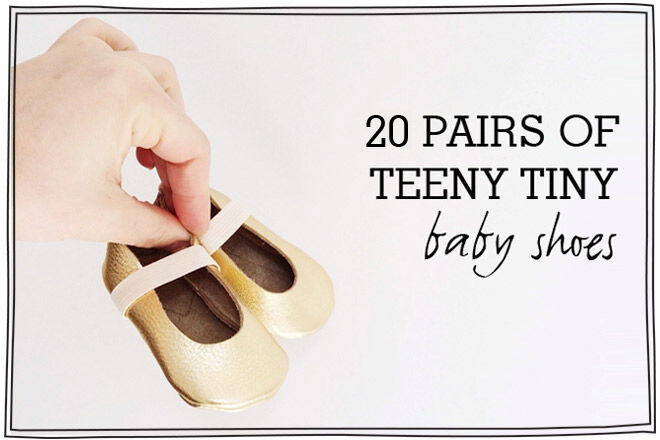 20 adorable pairs of pre-walker baby shoes - Hubble & Duke
