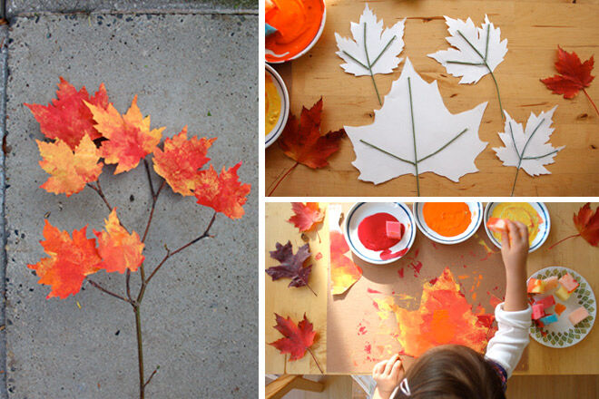 Making Autumn Leaves