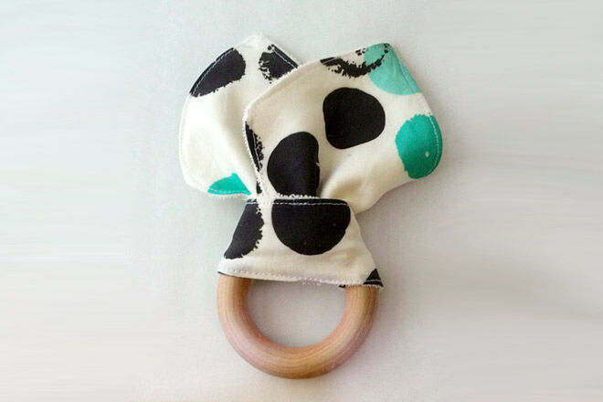 Beau Boys Teething Ring
