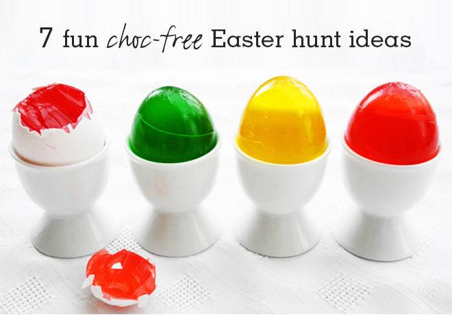 Choc-free Easter Hunt