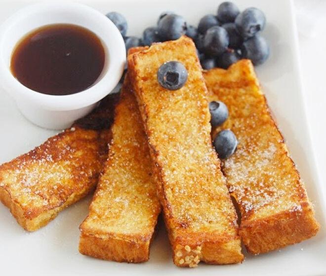Cinnamon fench toast tasty fingers