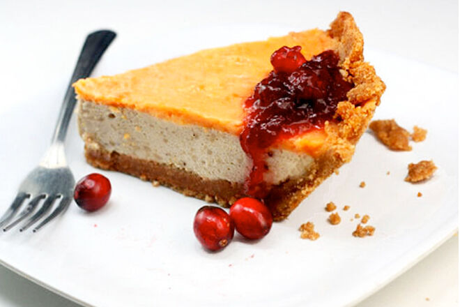 Sweet pie crust made from bread crusts