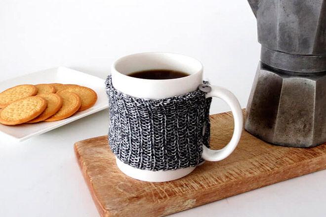winter woolies jumper tea coffee craft sew