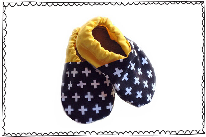 Scandi baby shoes