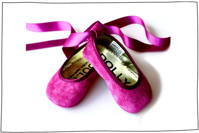 Dolly Amethyst ballerina slippers