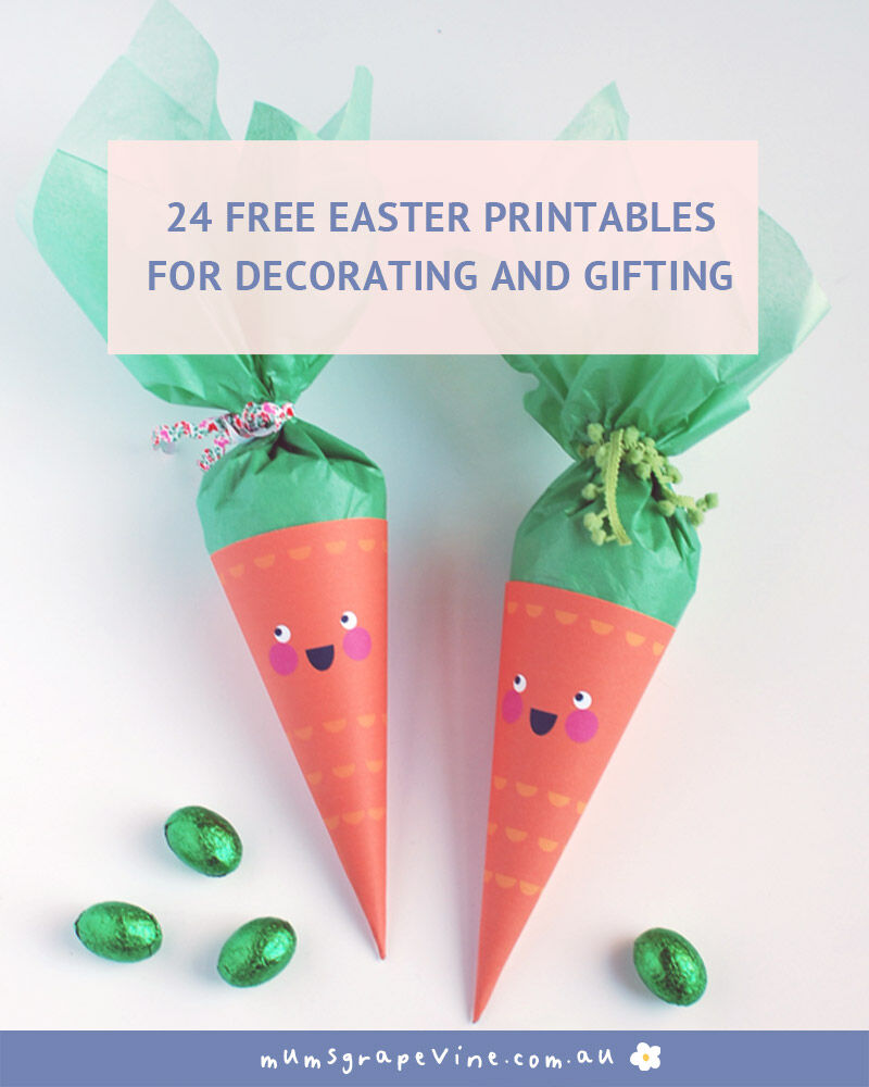 24 best free Easter printables for 2021   Mum's Grapevine