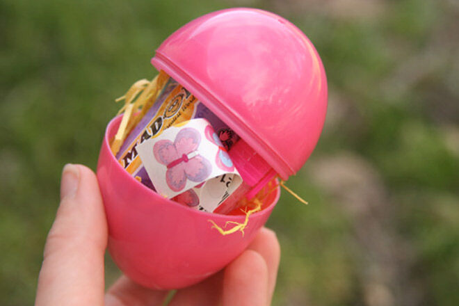 Chocolate free Easter Ideas