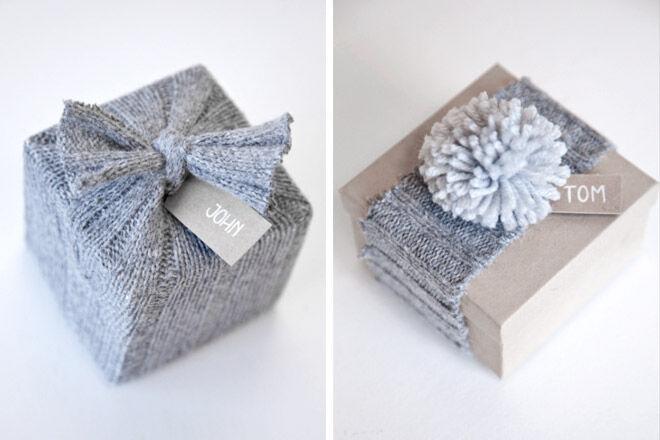 gift wrap present jumper