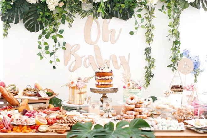 Oh Baby by Lenzo baby shower