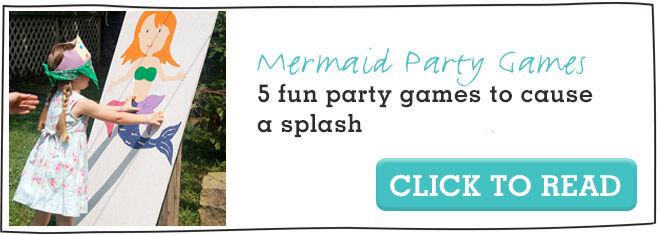 Fun games to play at a mermaid party