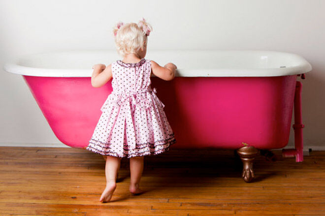 Toddler Proofing the bathroom