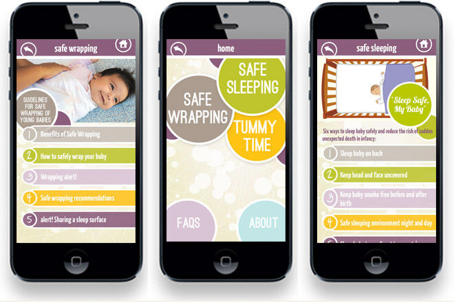 Sids and Kids Safety App