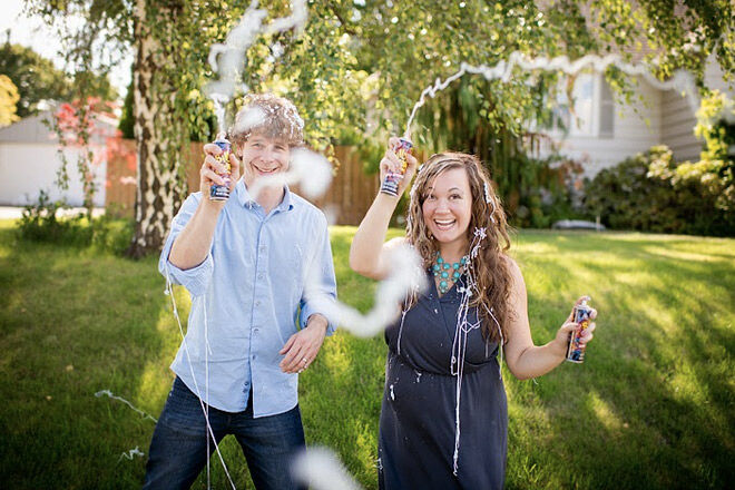 Gender Reveal Silly String