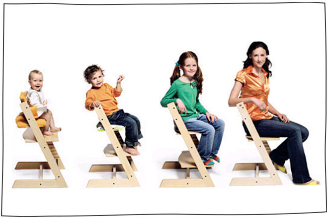 Stokke Chair that grows with your child