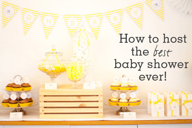 how to host a baby shower