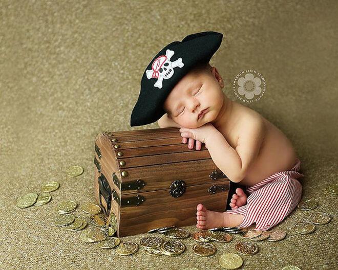 Etsy newborn pirate hat photo prop