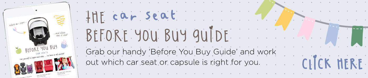 Before you buy a car seat pointer