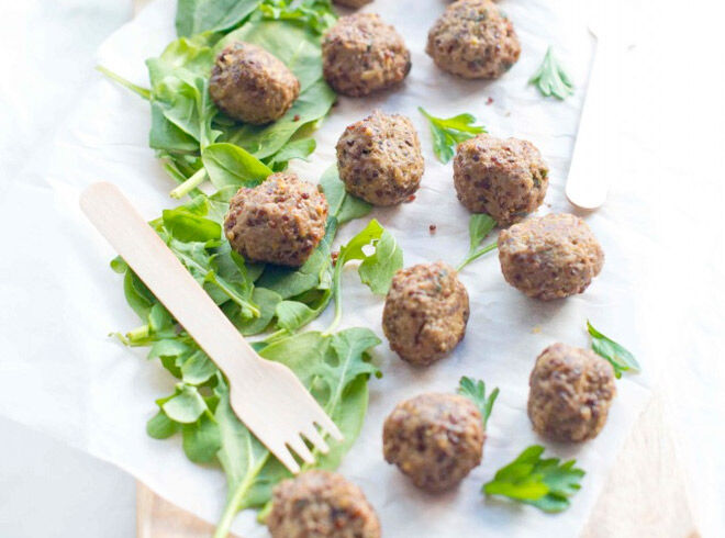 Easy and delicious meatballs for the lunchbox