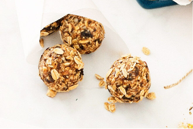 Nut-free bliss ball recipe