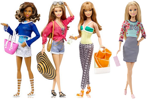 Barbie goes flat with new accessories